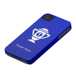 Blue 1st Place Trophy iPhone 4 Case