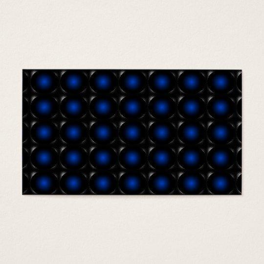 Blue 3D Illusion Unusual Business Card 3