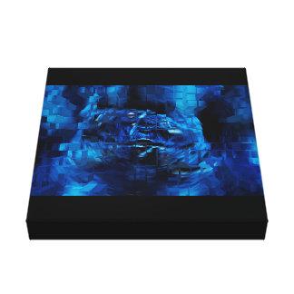 blue 3d looks beautiful rich fine lovely smart canvas print
