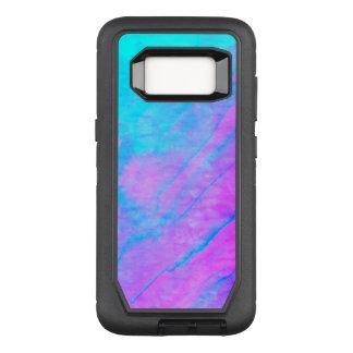 Blue 90s Street Art Graffiti Watercolor Stone OtterBox Defender Samsung Galaxy S8 Case