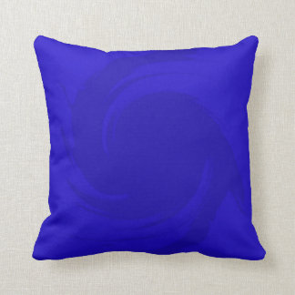 Blue Abstract Art Cushion