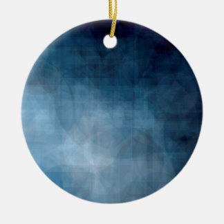 Blue abstract background christmas ornament