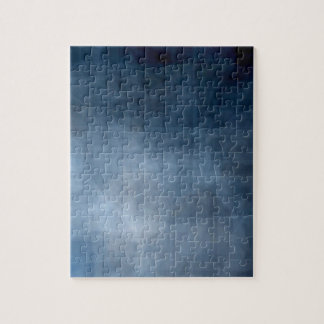 Blue abstract background jigsaw puzzle