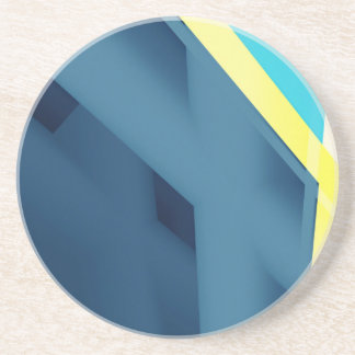 Blue Abstract Coasters