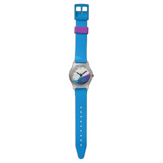 Blue abstract geometric shapes May28th Watch