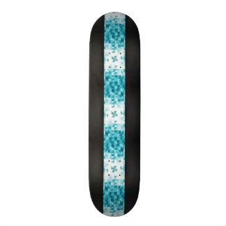 Blue Abstract Geometrical Background Template Skateboard Decks