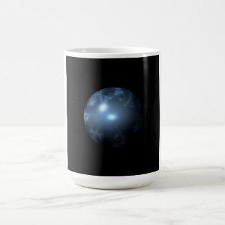 Blue Abstract Globe Mug