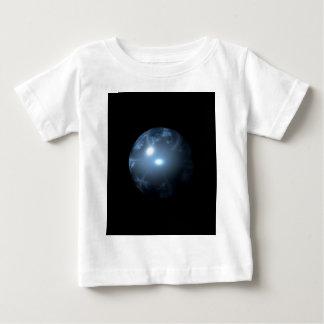 Blue Abstract Globe Tshirt