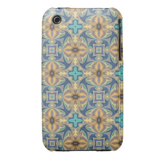 Blue Abstract iPhone 3 Case