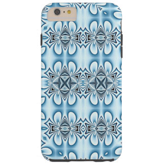 Blue Abstract Mirrors Tough iPhone 6 Plus Case