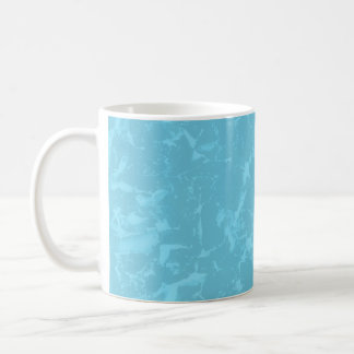 Blue Abstract Pattern Background Design. Coffee Mug