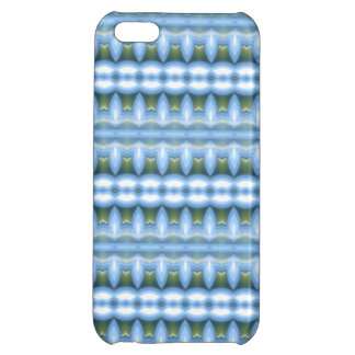 Blue abstract pattern cover for iPhone 5C
