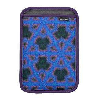 Blue abstract pattern iPad mini sleeve