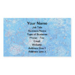 Blue Abstract Printed Pattern Pack Of Standard Business Cards