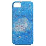 Blue Abstract Printed Pattern iPhone 5 Cases