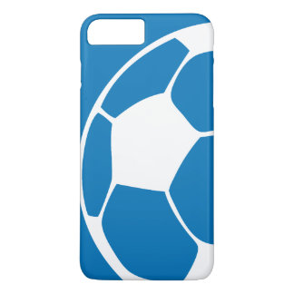 Blue Abstract Soccer iPhone 5 Case