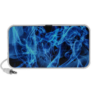 Blue Abstract Travelling Speaker