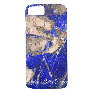 Blue abstract Stone iPhone 8/7 Case