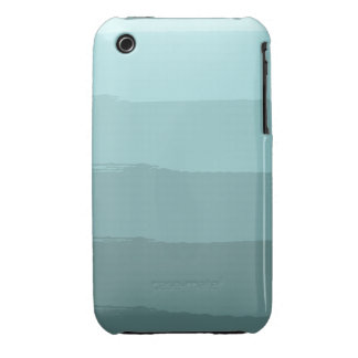 Blue Abstract Stripes Case-Mate iPhone 3 Case