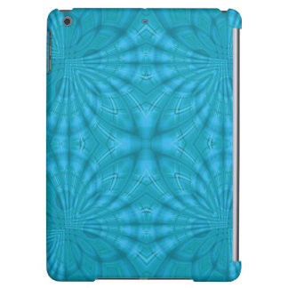 Blue abstract wood Pattern Case For iPad Air