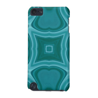 Blue abstract wood pattern iPod touch 5G cases