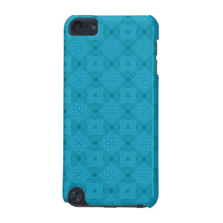 Blue abstract wood Pattern iPod Touch (5th Generation) Case
