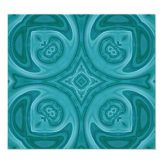Blue abstract wood pattern photographic print