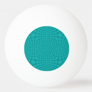 Blue abstract wood pattern ping pong ball