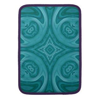 Blue abstract wood pattern sleeve for MacBook air