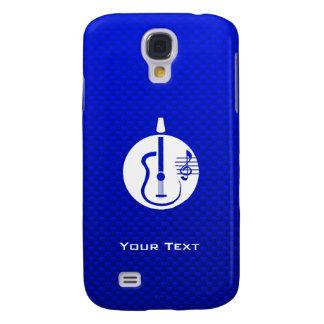 Blue Acoustic Guitar HTC Vivid Cases
