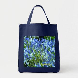 Blue Agapanthus Bag