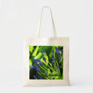 Blue Agapanthus Buds Budget Bag