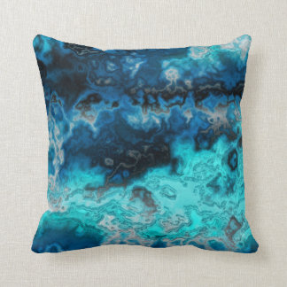 Blue Agate Cushion