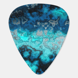 Blue Agate Guitar Pick