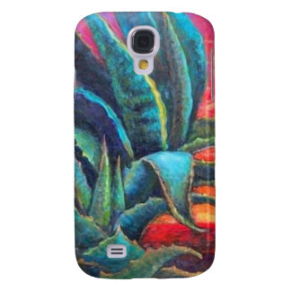 Blue Agave Cacti Sunrise by Sharles Galaxy S4 Case