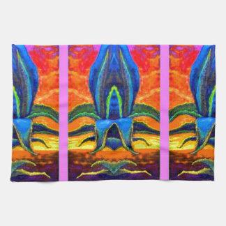 Blue Agave Tropics by sharles Tea Towel