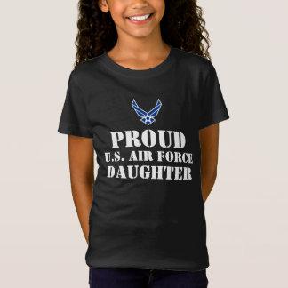 Blue Air Force Logo & Star T Shirt
