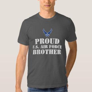 Blue Air Force Logo & Star Tee Shirt