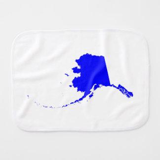Blue Alaska Burp Cloth