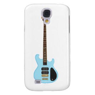 Blue Alembic Bass Guitar Samsung Galaxy S4 Cases