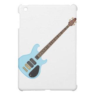 Blue Alembic Bass Guitar iPad Mini Cases