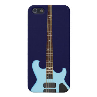 Blue Alembic Bass Guitar iPhone 5/5S Cover