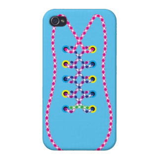 Blue All Laced Up iPhone 5 Case