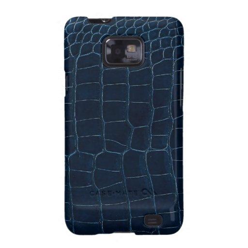 blue alligator skin galaxy SII covers