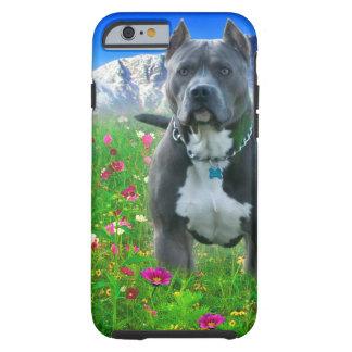 Blue American Pit Bull Terrier Pikes Peak iPhone 6 Case
