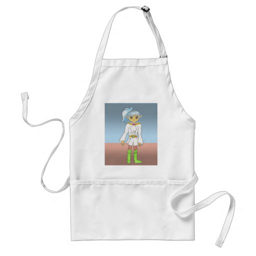Blue, an Anime Art Gallery Character Aprons