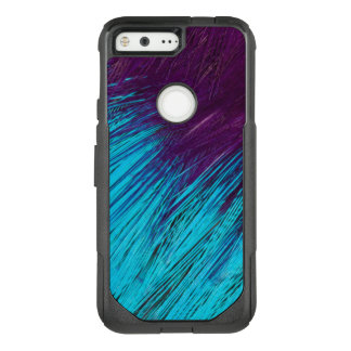 Blue An Purple Feather Abstract OtterBox Commuter Google Pixel Case