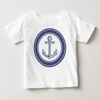Blue Anchor and Rope Tshirt