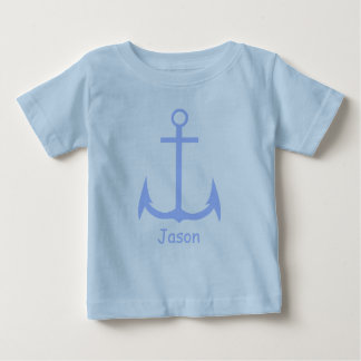 Blue Anchor Custom Baby T-shirt