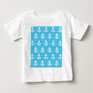 Blue Anchor Design Baby T-Shirt